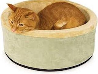 16 X16  ROUND K H PET PRODUCTS HEATED CAT BED