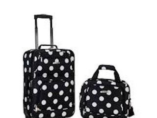 ROCKlAND CARRY ON lUGGAGE SET F102