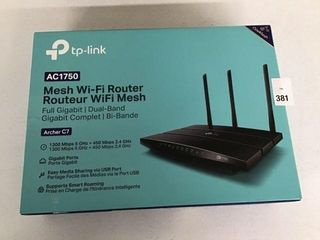 TP lINK MESH WI FI ROUTER