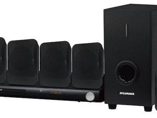 SYlVANIA DVD HOME THEATRE SYSTEM WITH 5 1CH