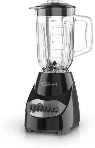 BlACK DECKER COUNTERTOP BlENDER WITH 5 CUP GlASS