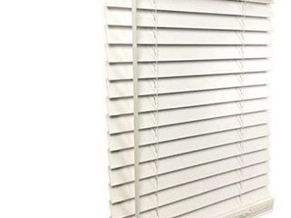 US WINDOW 2 INCH FAUX WOOD CORDlESS BlINDS