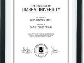 UMBRA DOCUMENT FRAME  13 X16
