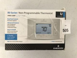80 SERIES NON PROGRAMMABlE THERMOSTAT