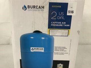 BURCAM 2 US GAl CAPTIVE AIR PRESSURE TANK