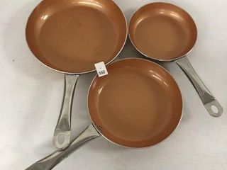 3 PCS KUTIME FRYING PAN