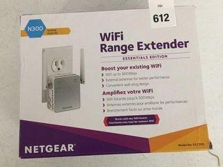 NETGEAR N300 WIFI RANGE EXTENDER MODEl EX2700