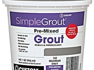 CUSTOM BUIlDING PRODUCTS PMG333QT SIMPlE GROUT