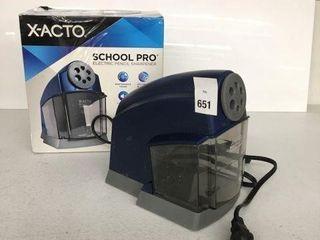 X ACTO SCHOOl PRO ElECTRIC PENCIl SHARPENER