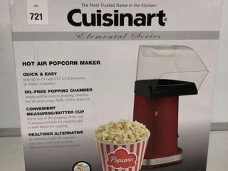 CUISINART HOT AIR POPCORN MAKER UP TO 15 CUPS