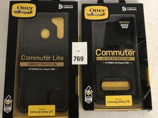 ASSORTED OTTER BOX CASES FOR SAMSUNG PHONES