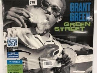 JAZZ IMAGE GRANT GREEN GREEN STREET RECORD AlBUM