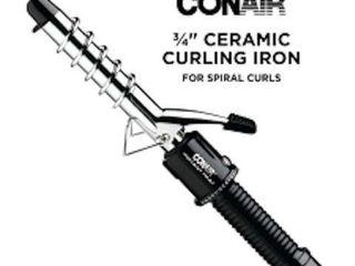 CONAIR INSTANT HEAT CURlING IRON SPIRAl