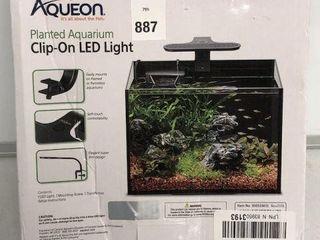AQUAEON PlANTED AQUARIUM ClIP ON lED lIGHT