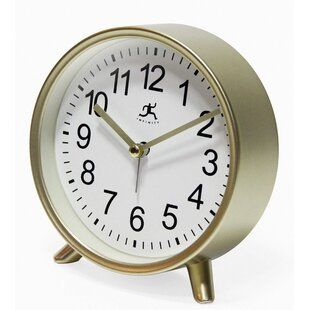 Tabletop Modern Decorative Alarm Clock