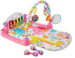 Fisher Price Deluxe Kick  amp  Play Piano Gym  amp  Maracas
