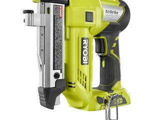 RYOBI 18 Volt ONE  lithium Ion Cordless AirStrike 23 Gauge 1 3 8 in  Headless Pin Nailer  Tool Only