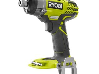 Ryobi P237 18 Volt Variable 3 Speed 1 4 Inch Hex Cordless Impact Driver  Tool Only   New Open Box