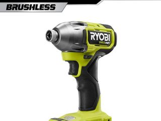 RYOBI ONE  HP 18 Volt Brushless Cordless 1 4 in  4 Mode Impact Driver  Tool Only