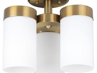 Elevate Collection Three light 11 3 4  Flush Mount