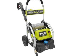 RYOBI 2 000 PSI 1 2 GPM Electric Pressure Washer  Missing Wand