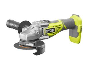 Ryobi 18 Volt One  Cordless 4 1 2 in  Brushless Cut Off Tool Angle Grinder  Tool Only  P423