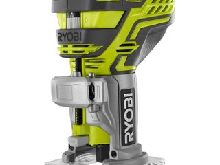 Ryobi P601 One  18 Volt lithium Ion Cordless Fixed Base Trim Router with Tool Free Depth Adjustment  Tool Only   New Open Box
