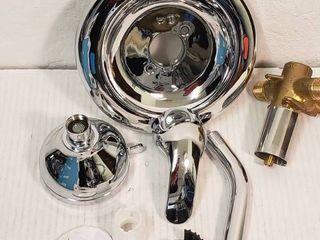 Moen 82604 Chrome Adler Posi Temp A Fixed Shower Set