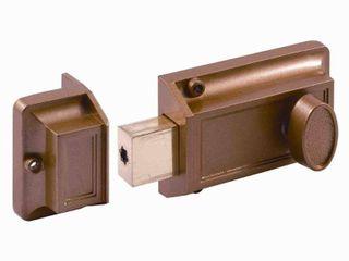 Single Cylinder Rim Deadlatch  Diecast  Brass