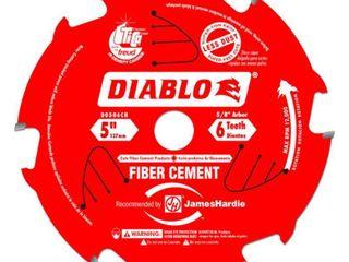 Freud D0506CH 5 Inch 6 Teeth Fiber Cement Blade