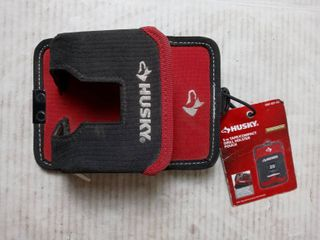 husky 5 in tape compact drill holster pouch