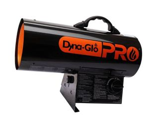 Dyna Glo Pro 30K 60K BTU Propane Forced Air Heater  Black