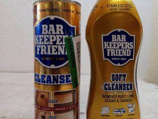 Bar Keepers Friend Multipurpose Household Cleanser   Polish 21 oz liquid and powder