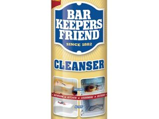 Bar Keepers Friend Multipurpose Household Cleanser   Polish 21 oz qty 3