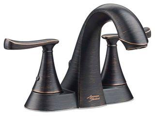 American Standard Chatfield 4 in  Centerset 2 Handle Bathroom Faucet in legacy Bronze