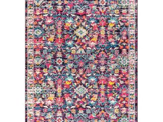 JONATHAN Y JONATHAN Y Modern Persian Boho Floral Multi Purple 8 ft  x 10 ft  Area Rug   7 ft 9 in X 10 ft