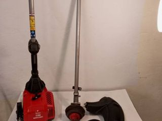 Craftsman Ws410 30 cc 4 cycle 17 in Straight Shaft Gas String Trimmer Tested