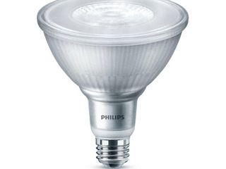 Philips 120 Watt Equivalent PAR38 Dimmable lED Flood light Bulb Daylight  5000K