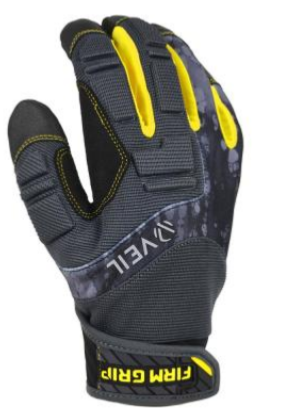 FIRM GRIP Pro Grip large Black Synthetic leather High Performance Glove