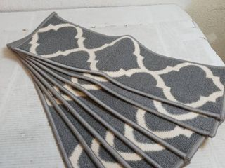 Stair Carpet Strips 26in x 9in qty 7