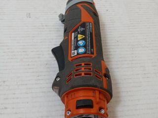 RIDGID JobMax 12 Volt lithium Ion Multi Tool  Tool Only