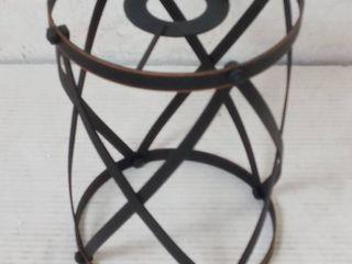 Oil Rubbed Bronze mini pendant shade