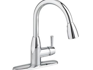 American Standard Fairbury Single Handle Pull Down Sprayer Kitchen Faucet in Polished Chrome