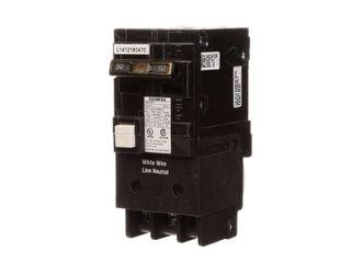 Siemens 50 Amp Double Pole Type QPF GFCI Circuit Breaker