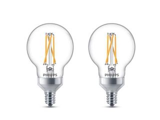 Philips Warm Glow G16 5 Candelabra lED Decorative light Bulb