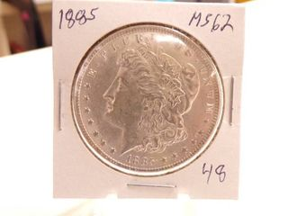 1885 MORGAN DOllAR   MS62