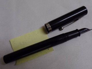 1954 SHAEFFER ITAlIC M SNORKEl MAROON FOUNTAIN PEN