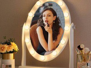 Hollywood lighted Mirror