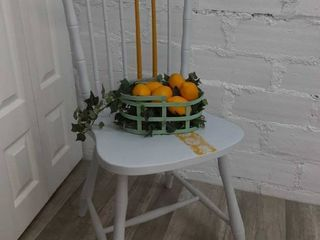 Upcycled Grey Chair