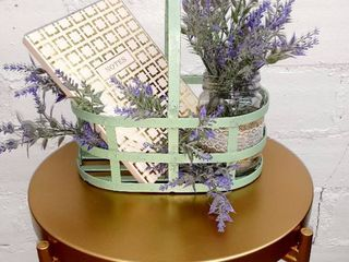 Upcycled Wire Basket in Sage